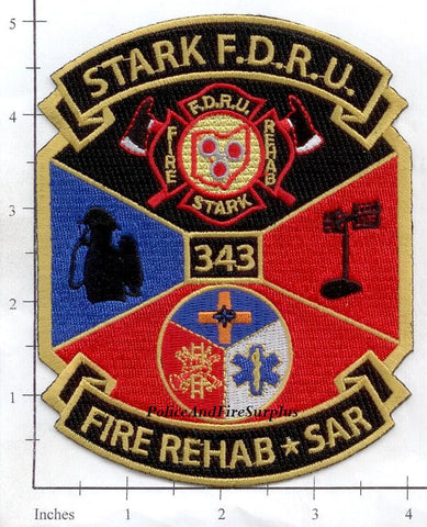 Ohio - Stark Fire Rehab / SAR Fire Dept Patch v1