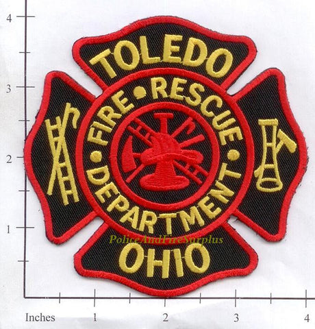 Ohio - Toledo Fire Dept Patch v2