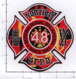 Oklahoma - North 48 Volunteer Fire Protection District Patch