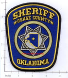 Oklahoma - Osage County Sheriff Police Dept Patch