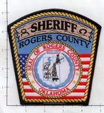 Oklahoma - Rogers County Sheriff Police Dept Patch