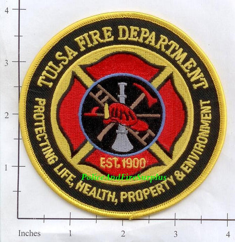 Oklahoma - Tulsa Fire Dept Patch v2