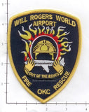 Oklahoma - Will Rogers World Airport Fire Rescue Fire Dept Patch