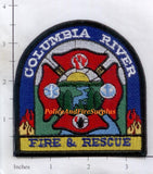 Oregon - Columbia River Fire & Rescue Patch