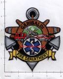 Oregon - Garibaldi Fire Dept Patch
