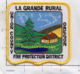 Oregon - La Grande Rural Fire Protection District Patch
