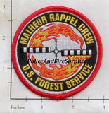Oregon - Malheur Rappel Crew Fire Dept Patch