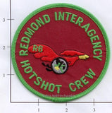 Oregon - Redmond Interagency Hotshot Crew Fire Dept Patch v1