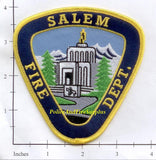 Oregon - Salem Fire Dept Patch v1