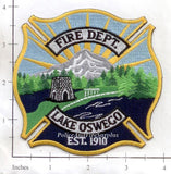 Oregon - Lake Oswego Fire Dept Patch