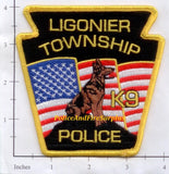 Pennsylvania - Ligonier Township K-9 Police Patch