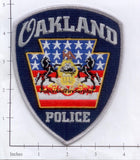 Copy of Pennsylvania - Oakland Police Dept Patch