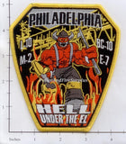 Pennsylvania - Philadelphia Engine  7 Ladder 10 Battalion 10 Medic 2 Fire Dept Patch