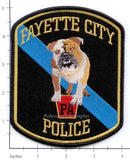 Pennsylvania - Fayette Police Dept Patch