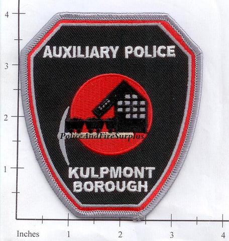 Pennsylvania - Kulpmont Borough Auxiliary Police Dept Patch v1