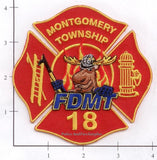 Pennsylvania - Montgomery Township Fire Dept Patch