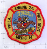 Pennsylvania - Philadelphia Engine 24 Medic 14 Fire Dept Patch