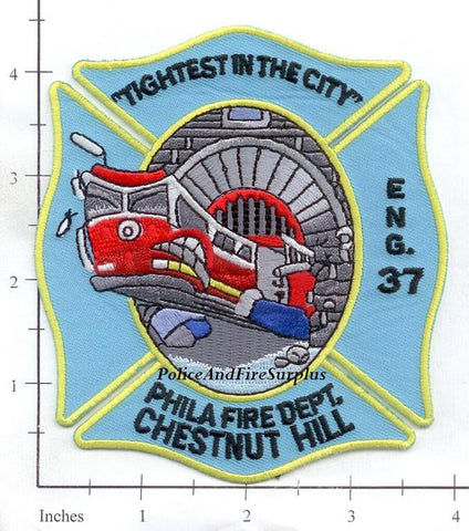 Pennsylvania - Philadelphia Engine 37 Fire Dept Patch