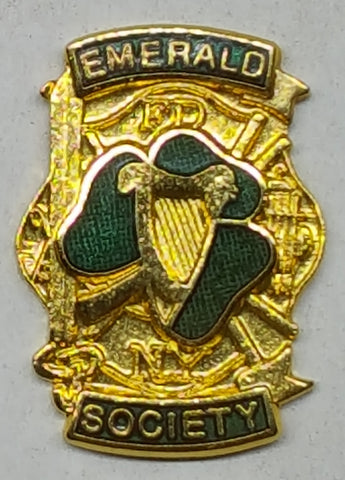 New York City Emerald Society Fire Dept Pin