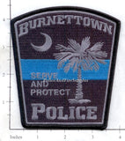 South Carolina - Burnettown Police Dept Patch