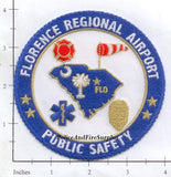 South Carolina - Florence Regional Airport Public Safety Fire Police EMS Dept Patch