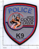 South Carolina - Goose Creek K-9 Police Dept Patch