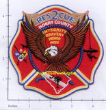 South Carolina - Horry County Rescue 2 Fire Dept Patch