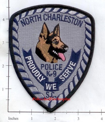 South Carolina - North Charleston K-9 Police Dept Patch