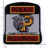 South Carolina - Pelion Police Dept Patch v1