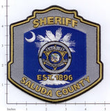 South Carolina - Saluda County Sheriff Police Dept Patch