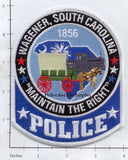 South Carolina - Wagener Police Dept Patch
