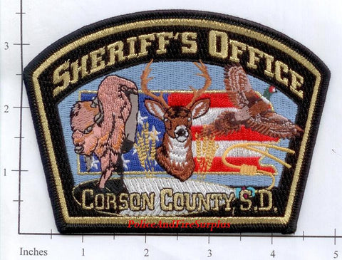 South Dakota - Corson County Sheriff's Office Police Dept Patch