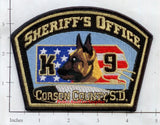 South Dakota - Corson County Sheriff's Office K-9 (001) R