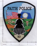 South Dakota - Faith Police Dept Patch