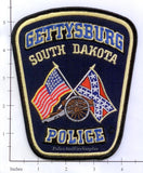 South Dakota - Gettysburgs Police Dept Patch v1