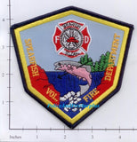 South Dakota - Spearfish Volunteer Fire Dept Patch
