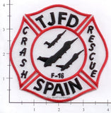 Spain - Torrejon Air Base Fire Dept Patch