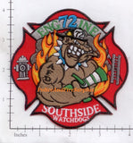 Tennessee - Arlington Engine 72 Fire Dept Patch