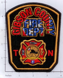 Tennessee - Gibson County Fire Dept Patch