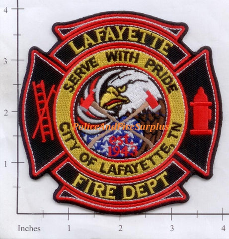 Tennessee - Lafayette Fire Dept Patch