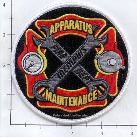 Tennessee - Memphis Apparatus Maintenance Fire Dept Patch
