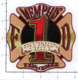 Tennessee - Memphis Division Chief 1 Fire Dept Patch