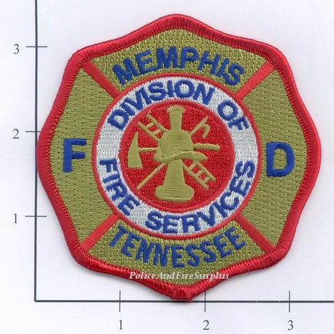 Tennessee - Memphis Division of Fire Services Fire Dept Patch