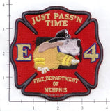 Tennessee - Memphis Engine  4 Fire Dept Patch