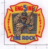 Tennessee - Memphis Engine  5 Fire Dept Patch