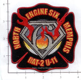 Tennessee - Memphis Engine  6 Battalion 2 Unit 11 Fire Dept Patch