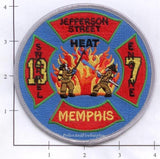 Tennessee - Memphis Engine  7 Truck 13 Fire Dept Patch