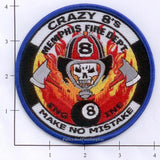 Tennessee - Memphis Engine  8 Fire Dept Patch