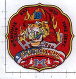 Tennessee - Memphis Station 18 Fire Dept Patch