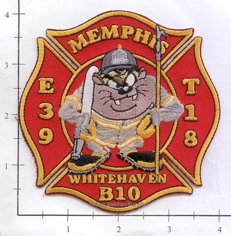 Tennessee - Memphis Engine 39 Truck 18 Battalion 10 Fire Dept Patch